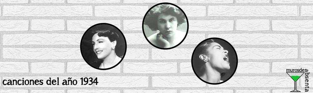 Canciones del año 1934