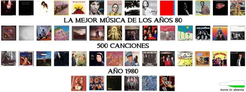 Música De Los 80 Sus 500 Mejores Canciones Muros De Absenta