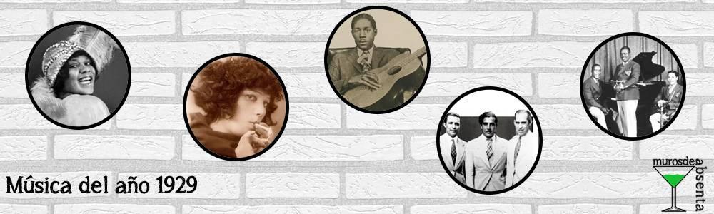 Música del año 1929
